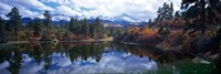 Reflection of Clouds in Water, San Juan Mountains, Colorado Fine-Art Print