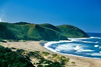 View of the Coastline, Eastern Cape, South Africa Fine-Art Print