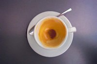 Finished Espresso, Baden-Wurttemberg, Germany Fine-Art Print
