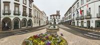 Ponta Delgada City Hall, Sao Miguel, Azores, Portugal Fine-Art Print