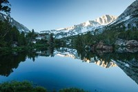 Reflection of Mountain in a River, Sierra Nevada, California Fine-Art Print