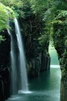 Waterfall Miyazaki Japan Fine-Art Print
