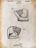 B Glove White Patent Fine-Art Print