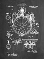 Chalkboard Gyrocompass Patent Fine-Art Print