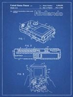 Blueprint Nintendo Game Boy Patent Fine-Art Print