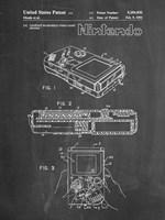 Chalkboard Nintendo Game Boy Patent Fine-Art Print