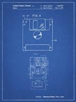 Blueprint 3 1/2 Inch Floppy Disk Patent Fine-Art Print