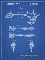 Blueprint Star Wars Nebulon B Escort Frigate Patent Fine-Art Print
