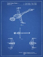 Blueprint Star Wars B-Wing Starfighter Patent Fine-Art Print