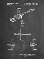 Chalkboard Star Wars B-Wing Starfighter Patent Fine-Art Print