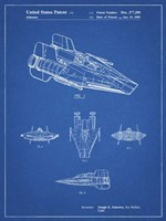 Blueprint Star Wars RZ-1 A Wing Starfighter Patent Fine-Art Print