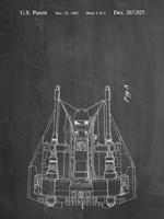 Chalkboard Otoscope Patent Print Fine-Art Print