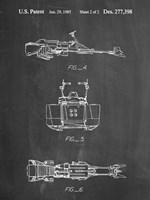 Chalkboard Star Wars Speeder Bike Patent Fine-Art Print