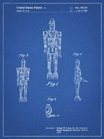 Blueprint Star Wars IG-88 Patent Fine-Art Print