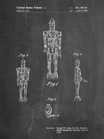 Chalkboard Star Wars IG-88 Patent Fine-Art Print