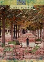 Autumn Tuileries Fine-Art Print