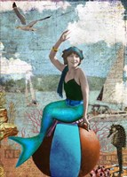 Beach Ball Mermaid Fine-Art Print