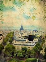 Bonjour Paris Fine-Art Print