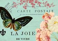 Butterfly Postcard Fine-Art Print