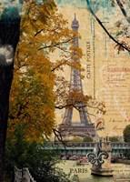 Eiffel in October Fine-Art Print