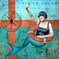 Puget Sound Mermaid Fine-Art Print