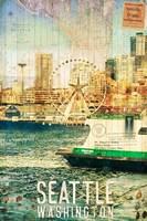 Seattle Ferry Dock Fine-Art Print