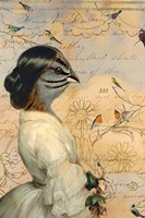 Sparrow Lady Fine-Art Print