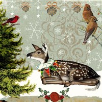Winter Fawn Fine-Art Print