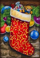 Christmas Stocking Fine-Art Print
