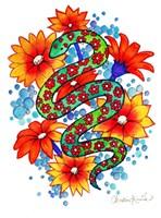 Mosaic Snake Fine-Art Print