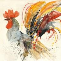 Festive Rooster II Fine-Art Print