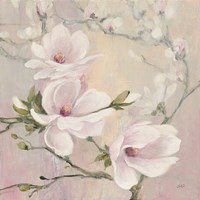 Blushing Magnolias Fine-Art Print