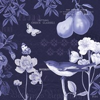 Botanical Blue VI Fine-Art Print