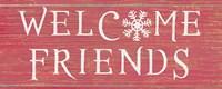 Christmas Affinity II Red Fine-Art Print