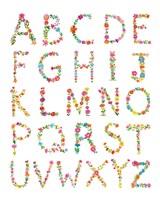 Floral Alphabet Fine-Art Print