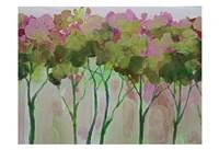 Periwinkle Trees Fine-Art Print