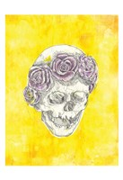Skull with Rose Crown Fine-Art Print