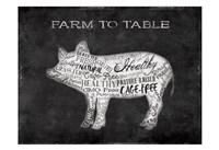 Farm To Table Pig Fine-Art Print