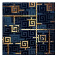Blue Gold Keys Fine-Art Print