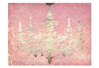 Glitter Chandelier Fine-Art Print