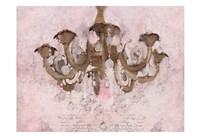 Blush Chandelier Fine-Art Print