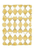 Painted Pattern Mustard 2 Fine-Art Print