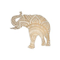 Elephant Gold 1 Fine-Art Print