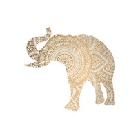 Elephant Gold 3 Fine-Art Print