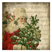 Vintage Santa 2 Fine-Art Print