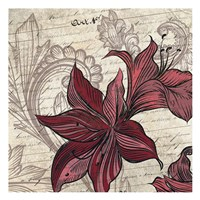Lily Square 1 Fine-Art Print