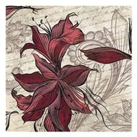 Lily Square 2 Fine-Art Print
