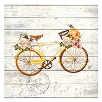 Carte Postal Bike 2 Fine-Art Print