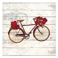 Carte Postal Bike 3 Fine-Art Print