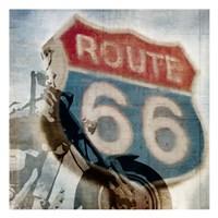 Route 66 Riding Fine-Art Print